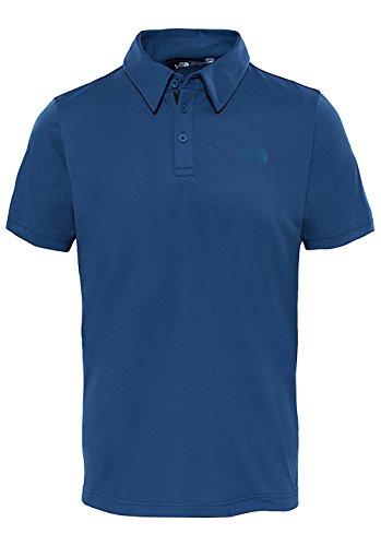 The North Face Tanken Polo, Hombre, Azul (Shady Blue), Small (Tamaño del Fabricante:S)