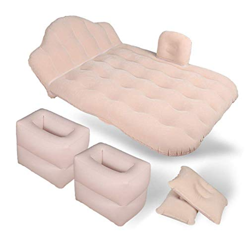 Auto Opblaasbare Luchtmatras Bed Multi-Functionele Reizen Bed Flocking/Oxford Doek draaibank Outdoor Camping Strand Drijvend Kussen