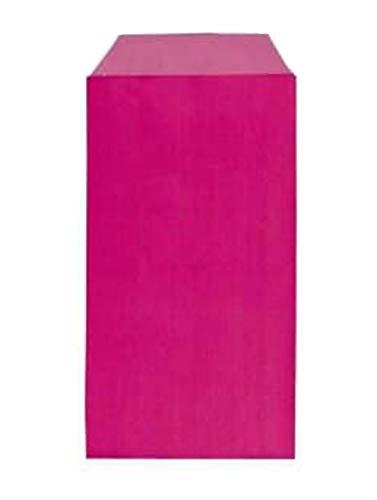 Yearol K04F. 250 Sobres bolsas de papel kraft pequeñas sin asas. Especial para regalo, tiendas, comercio, joyería, bisutería, manualidades, etc. 7 cm. x 12 cm. 60 gr/m. (Rosa)