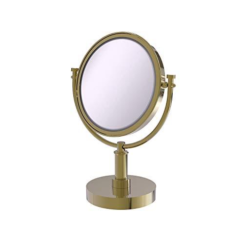 Allied DM-4/5X Miroir de Maquillage grossissant 5X en Laiton Non laqué