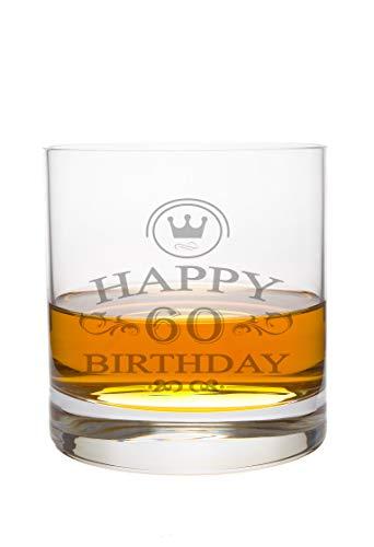 LEONARDO Whiskeyglas 60 Jahre Gravur - Geburtstag Geschenk Geschenkidee Whisky-Glas graviert