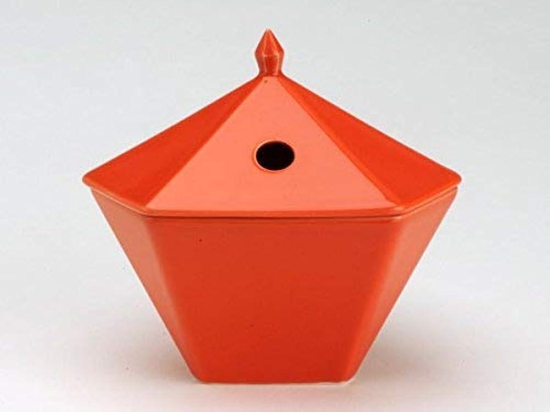 鉛バリー属性縁香炉 橙