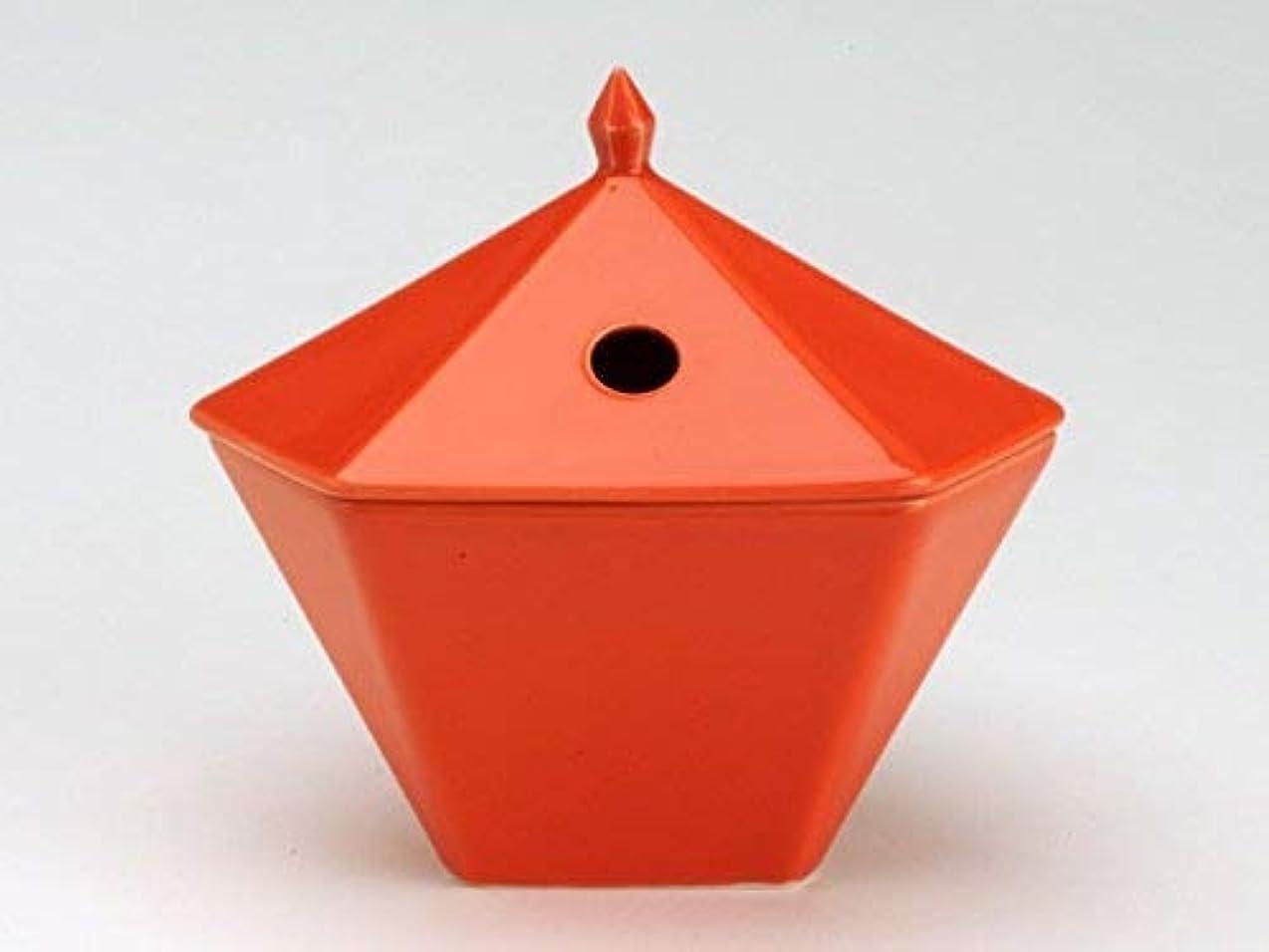 正確な激怒繰り返した縁香炉 橙