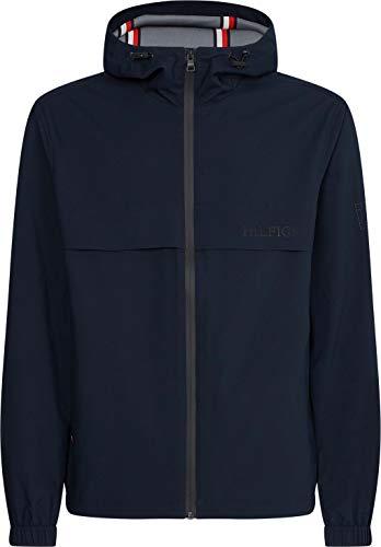 Tommy Hilfiger Tech Hooded Jacket Chaqueta, Cielo del Desierto, M para Hombre