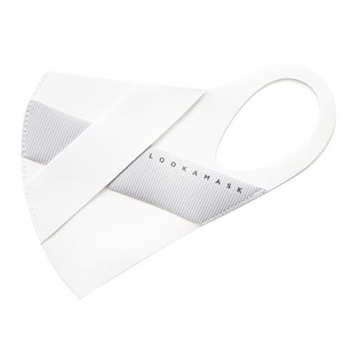 LOOKA ルカ デザイン マスク プレミアム ライト │ 洗える 耳 痛くない 肌荒れしない 韓国 快適 立体 小顔