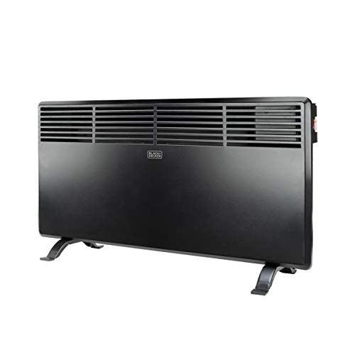 Black+Decker BXCSH1800E Termoconvettore, 1800 W, Steel