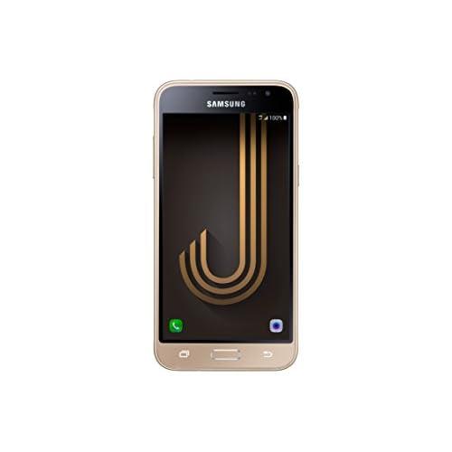 Samsung J320 Galaxy J3 (6) Smartphone da 8 GB, Mono Sim, Oro [Versione Italiana]