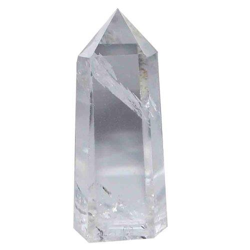 Bergkristall schöne klare Spitze A*Super Qualität aus Brasilien ca. 50 -60 mm groß.(3463)