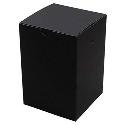 【メーカー直送品のため代引不可】フラワーボックス◆プチシリーズ[S] ブラック 100枚セット (フラワーギフトボックス ダンボール箱 段ボール箱 黒)