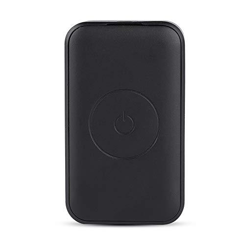 Localizador GPS Rastreador Min Inteligente con Botón Sos Parac 4 Frecuencias,GPS + Agps + Lbs + WiFi Se Puede Conectar con Teléfono Móvil o Calculadora,con La De Función De Podómetro,Poco Ruido