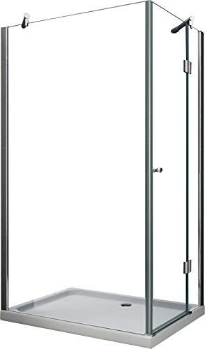 Duschkabine NOVUM-SIDE 120 x 90 x 195 cm