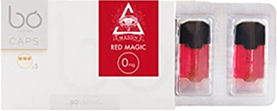 【限定コラボ商品】JWELL 電子タバコ リキッド BO caps × AK-69 (69mason) 日本限定フレーバー 3個付き RED MAGIC レッドマジック カシス香るスーパーメンソール味