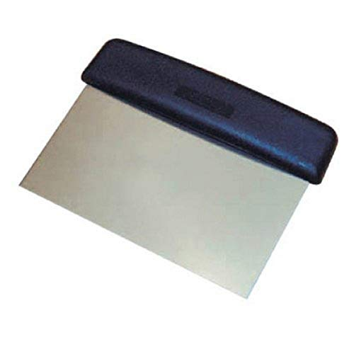 Winco Plastic Handle Winware Stainless Steel Dough Scraper