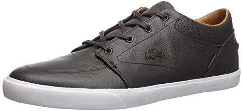 Lacoste Men's Bayliss Fashion Sneaker, Black On Black, 7 M US