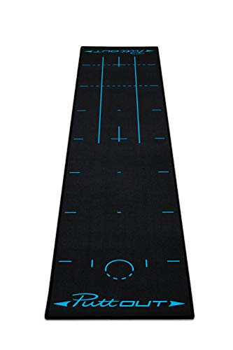 PuttOut Pro Golf Putting Mat - Perfect Your Putting (7.87-feet x 1.64-feet)