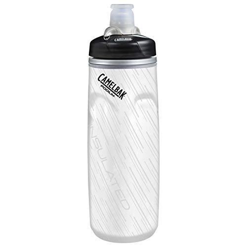 CAMELBAK Unisex– Erwachsene Podium Chill 620ml, Schwarz Weiß
