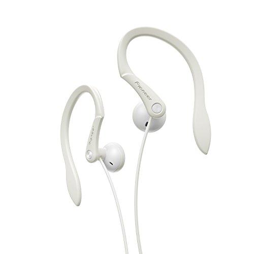 Pioneer SE-E511-W - Auriculares Deportivos de Clip, Color Blanco