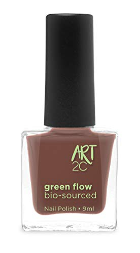 Art 2C 85 % Bio-sourced Vegan Ultra-Pure Patented Nail Polish - veganer, ultra-reiner Nagellack, zu 85 % auf biologischer Basis, 24 Farben, 9 ml, Farbe: Rosewood 16