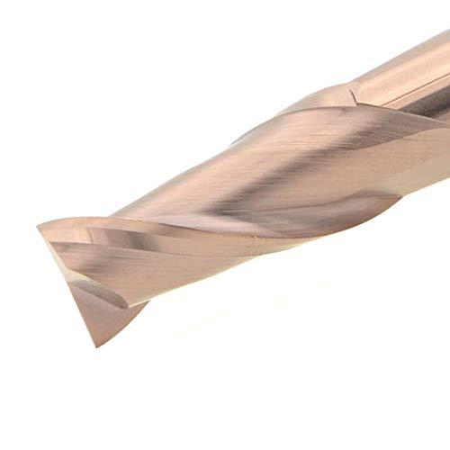 Maifix 2 Flute HRC60 12.0x12Dx75L Flat Head Taper Straight Shank CNC Milling Cutter Sets Tungsten Steel End Mill