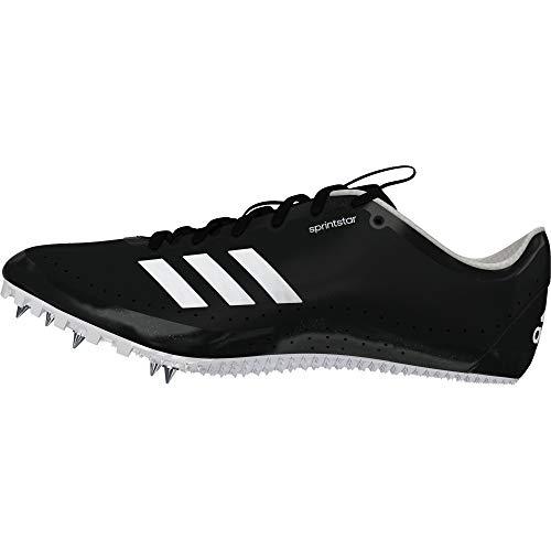 Adidas Sprintstar, Zapatillas De Atletismo Hombre, Negro (Negbás/Ftwbla 000), 46 2/3 Eu
