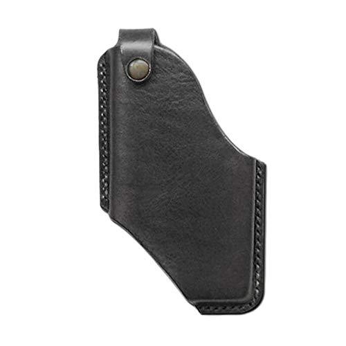 Funda de piel para teléfono celular, estilo retro, para cinturón de tela vaquera, ideal para la mayoría de los teléfonos móviles
