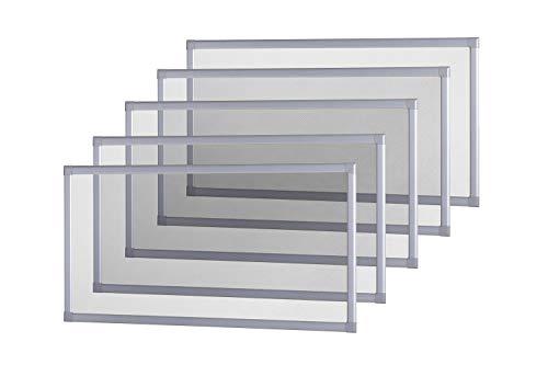 empasa Lichtschachtabdeckung Kellerschachtabdeckung 60 x 115 cm, Gitterrost in Silber, trittfest, für Kellerschacht und Lichtschacht, individuell kürzbar