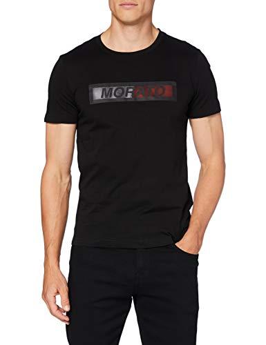 Antony Morato MMKS01828-FA100144-9000 Camiseta, Negro, M para Hombre