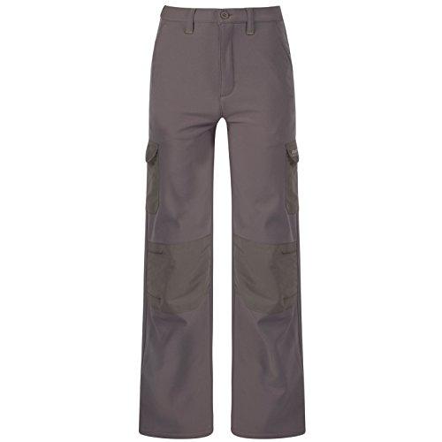 Regatta - Pantalon softshell hydrofuge - Garçon (15-16 ans) (Gris sombre)