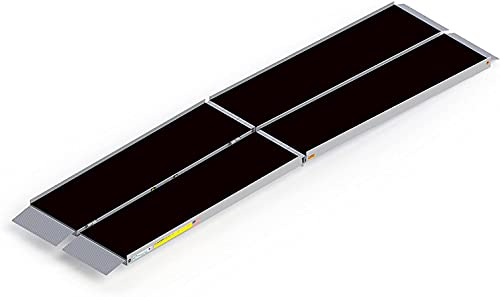 EZ-Access Suitcase Trifold Portable Ramp with an Applied Slip-Resistant Surface, 10 Foot