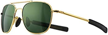 Sungait Men's Military Style Polarized Pilot Aviator Sunglasses