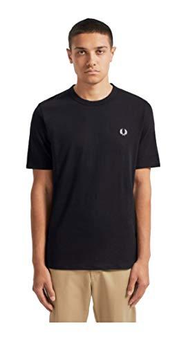 Fred Perry M7534 T-Shirt Uomo Nero M