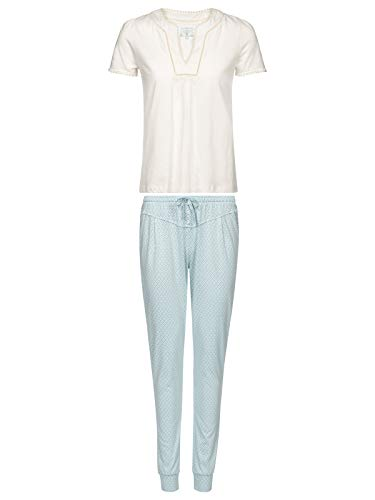 Vive Maria Bonbon Pyjama White/lightblue Allover, Größe:S