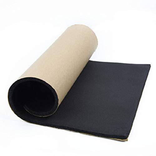 Yeglg 50 x 200 cm x 3 mm coche aislamiento térmico a prueba de sonido alfombrilla Deadener, a prueba de polvo, impermeable para coche,impermeable para la almohadilla de corrección de accesorios