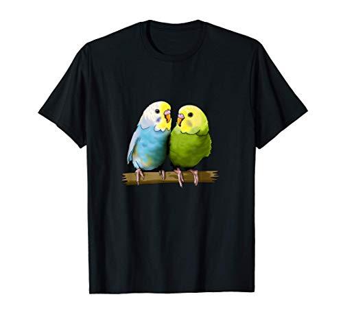 Wellensittich Haustier Papagei Vogel T-Shirt