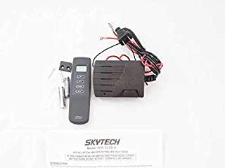 Lennox OEM Skytech 1410T-LCD On/Off Fireplace Remote Control with Timer (SKY-1410T-LCD-A) - Original OEM Part