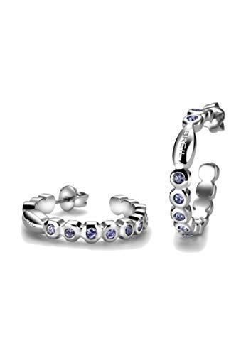 Breil Orecchini Donna collezione ROLLING DIAMONDS con pietre multiple in crystal jewellery