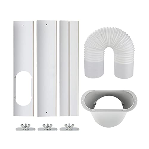 FPZHONG® Aire Acondicionado Portátil Ventana Adaptador Adaptador De Escape Conector De Manguera Ventana Sellado Aire Acondicionado Móvil Accesorios
