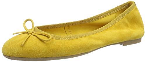 MARCO TOZZI 2-2-22144-32, Ballerine Donna, Giallo (Yellow 600), 40 EU