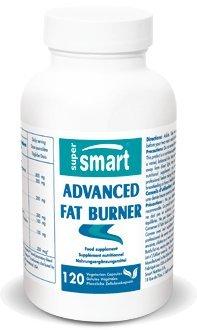 Supersmart MrSmart - Adelgazamiento - Advanced fat burner (Quemagrasas avanzado) le ayuda a perder esos centímetros extra gracias a los avances científicos más recientes. 120 cápsulas.