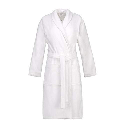ESPRIT Albornoz unisex 100% algodón. blanco L