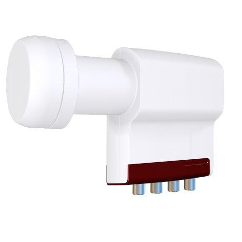 Inverto Red Extend Quattro LNB (0,3dB, 40mm)