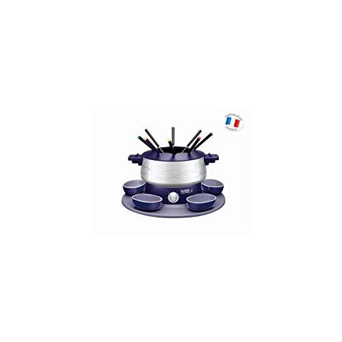 Tefal Simply Invent EF351412 Fondue con accesorios, 800 W, Recubrimiento Antiadherente/Termoplástico, Violeta