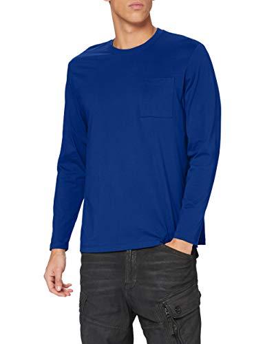 edc by ESPRIT Herren 100CC2K305 T-Shirt, 430/BLUE, M