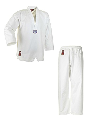 Ju-Sports Taekwondoanzug to Start Costume Homme, Blanc, 160 cm
