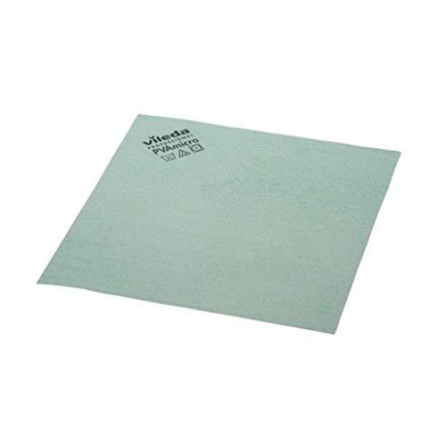 Vileda 235406 Bayetas Microfibra Verde, 19.5x18x5.2 cm - 5 Unidades