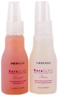Pravana KeraGlaze Smoother and Color Lock Kit by Pravana