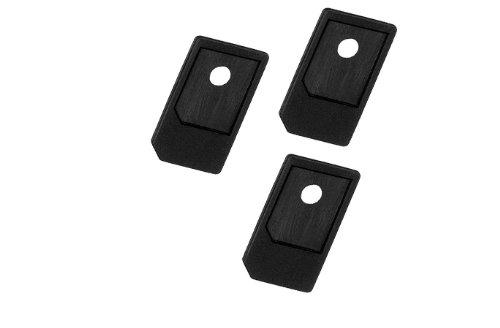 3 x Micro SIM-adaptador de tarjetas, el Mini Ziplock-bolsa~iPad 1 + 2...
