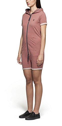 OnePiece Damen Fitted Short Jumpsuit, Rot (Muddy), 40 (Herstellergröße: L) - 3