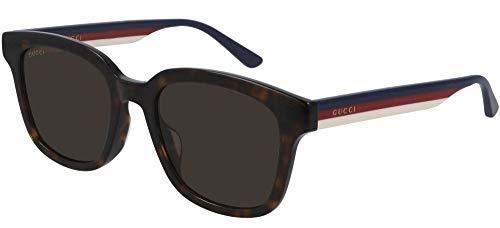 Gucci Gafas de sol GG0847SK 003 Gafas de sol Hombre color Marrón Habana tamaño de lente 53 mm