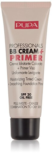 Pupa BB Cream + Primer For Combination To Oily Skin 001 Nude